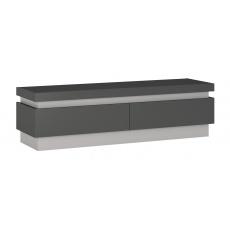 LYON TMAVÝ televizní stolek LYOF01