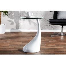 Konferenční stolek LOLA, bílá