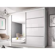 Šatní skříň EDDIE 35 - 180cm, bílá