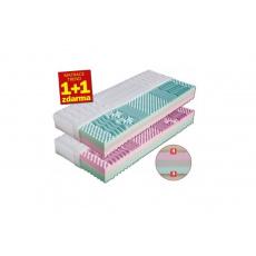 Matrace pěnová LEONA  1+1 zdarma