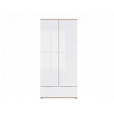 ZELE šatní skříň SZF2D1S