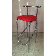Barová židle JOLLY HOCKER - červená