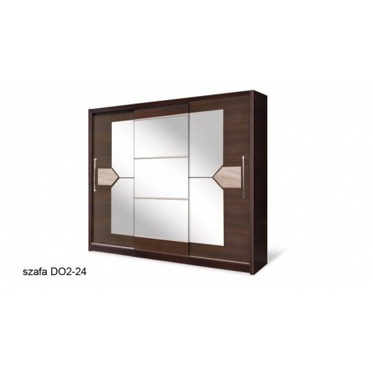 Šatní skříň  DOME 240 cm