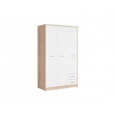 NEPO šatní skříň SZF3D2S