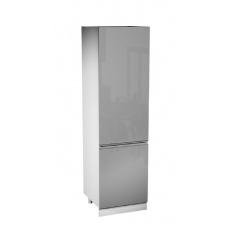 ASPEN ŠEDÁ spodní skříňka D60ZL vestavba lednice