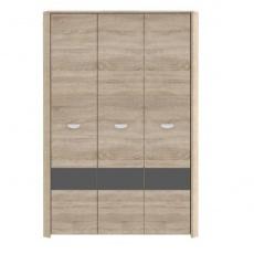 YOOP skříň šatní kombinovaná