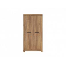BALIN šatní skříň SZF2D, modřín