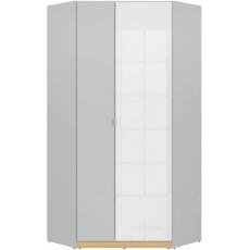 NANDU rohová šatní skříň SZFN2D