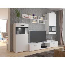 KAMILA obývací stěna, bílá