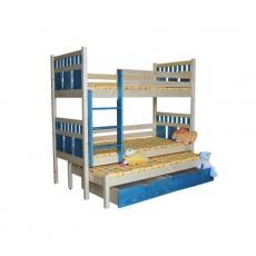 Patrová postel, VAŠÍK, 90x200cm