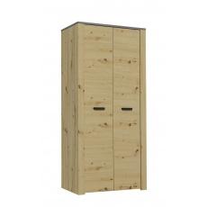 XL šatní skříň S2D