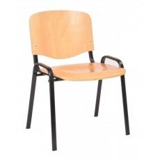 Přístavná židle ISO 12, dřevo