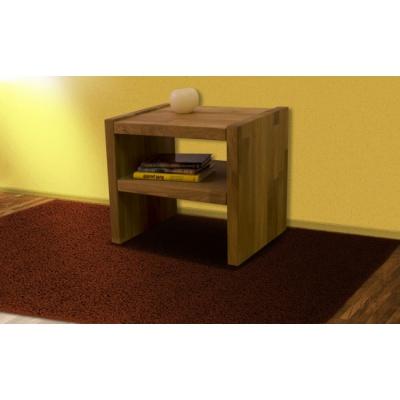 Noční stolek, masiv buk, PETR