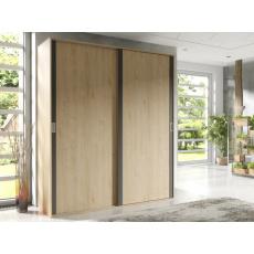 Šatní skříň DIEGO 2D, dub hickory