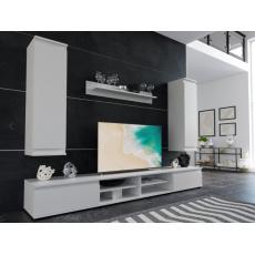 DIANA 2 obývací stěna, bílá
