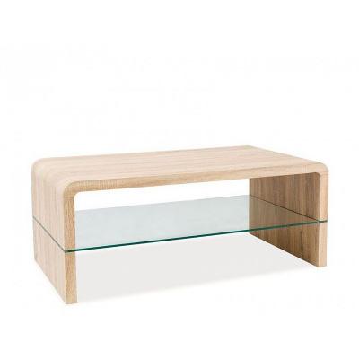 Konferenční stolek RICIO, dub sonoma