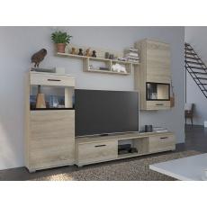 KAMILA obývací stěna, dub sonoma