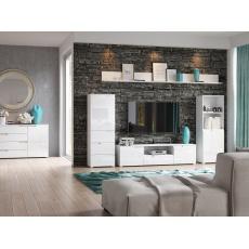 LISA obývací pokoj, bílá lesk