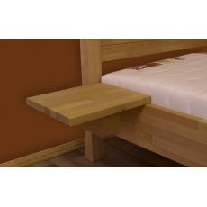 Noční stolek, masiv buk, PAVEL