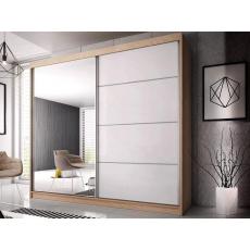 Šatní skříň EDDIE 35 - 230cm, dub sonoma