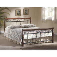 Kovová postel 140x200cm CLARA