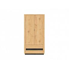 OSTIA šatní skříň SZF2D2S