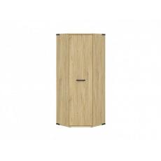 LARA rohová šatní skříň SZFN1D