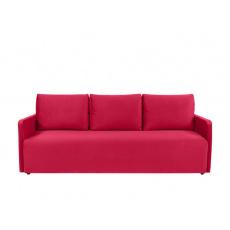 Rozkládací pohovka ALAVA LUX, červená